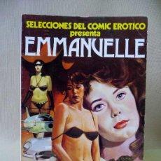 Cómics: COMIC, SELECCIONES DEL COMIC EROTICO, EMMANUELLE, EDICIONES ACTUALES, 1977. Lote 26549952