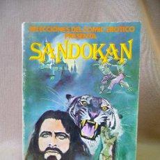 Cómics: COMIC, SELECCIONES DEL COMIC EROTICO, SANDOKAN, EDICIONES ACTUALES, 1977. Lote 26549983