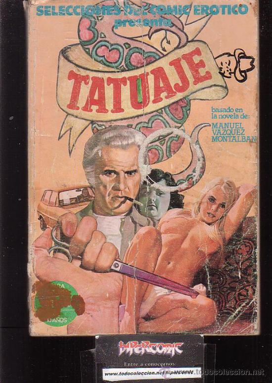 SELECCIONES DEL COMIC EROTICO , TATUAJE (Coleccionismo para Adultos - Comics)