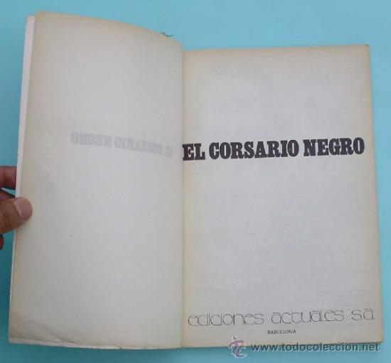 Cómics: SELECIONES DEL COMIC EROTICO PRESENTA. EL CORSARIO NEGRO. EDICIONES ACTUALES, 1977. - Foto 2 - 32571243