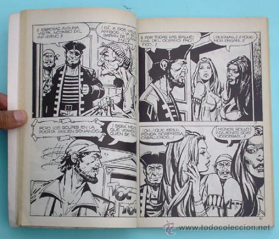 Cómics: SELECIONES DEL COMIC EROTICO PRESENTA. EL CORSARIO NEGRO. EDICIONES ACTUALES, 1977. - Foto 3 - 32571243