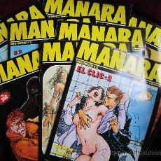 Cómics: LOTE 9 COMICS OBRAS COMPLETAS MANARA. NUMS. 4-6-13-14-15-16-17-18 Y 19. NEW COMIC. EROTICO. Lote 35942284