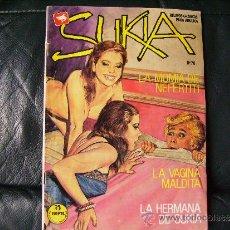 Comics: SUKIA Nº 70-LA HERMANA DE SUKIA,LA VAGINA MALDITA-ZINCO-COMIC EROTICO-EROTISMO. Lote 37795902