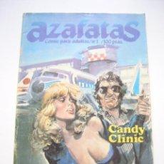 Cómics: AZAFATAS Nº 1 RELATOS GRAFICOS PARA ADULTOS ZINCO - CÓMIC ERÓTICO C42. Lote 39804638