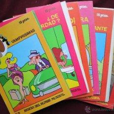 Cómics: LOTE 18 NUMS. DE EL TROMPA. MARC BEN, 1976. REVISTA DE HUMOR GRÁFICO ERÓTICO.. Lote 41086584