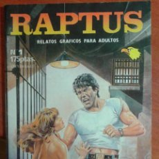RAPTUS Nº 1-COMIC EROTICO-PORNO-PARA ADULTOS-EDITORIAL ASTRI