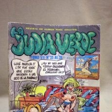 Cómics: COMIC, COMIC EROTICO, JUDIA VERDE, IRU, TOMO VII, Nº 25 AL 28. Lote 42517311