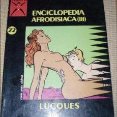 Cómics: COMIC PARA ADULTOS: COLECCION X, Nº22,ENCICLOPEDIA AFRODISIACA (III). Lote 26126471