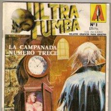 Comic Erotico Ultra Tumba Nº 1. Editorial Astri 1987.