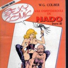 Cómics: SEXY COMIC Nº 2 W.G. COLBER LAS CONFIDENCIAS NADO PARTE 2. Lote 43889245