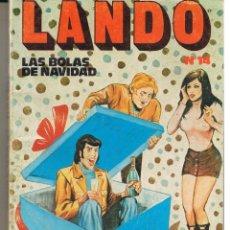 Comics: LANDO. Nº 14. LAS BOLAS DE NAVIDAD. EDICOMIC.. Lote 45965633
