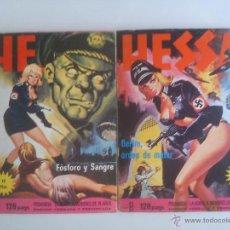 Cómics: HESSA. LOTE 2 COMICS: Nº 2 Y 3 (ELVIBERIA, 1976) ¡¡COLECCIONISTA!!. Lote 47397829