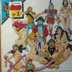 Cómics: EL CUERVO Nº 1 LA LOCA HISTORIA DEL SEXO EDITORIAL IRU EN MUY BUEN ESTADO. Lote 47764637