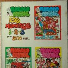 Cómics: MANOLO E IRENE TOMO CON LOS NºS 1, 2 Y 3 . Lote 47765321