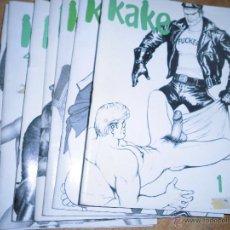 Cómics: KAKE LOTE TEBEOS ESPAÑA PORNO HEROTICO CHICOS COLECCION COMPLETA DE 7 NºS 1 2 3 4 5 6 7. Lote 43497731