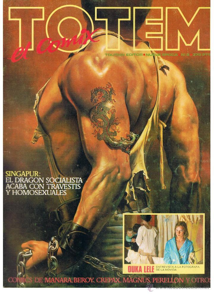 TOTEM. EL COMIX. Nº 3. TOUTAIN (B/A48) (Coleccionismo para Adultos - Comics)