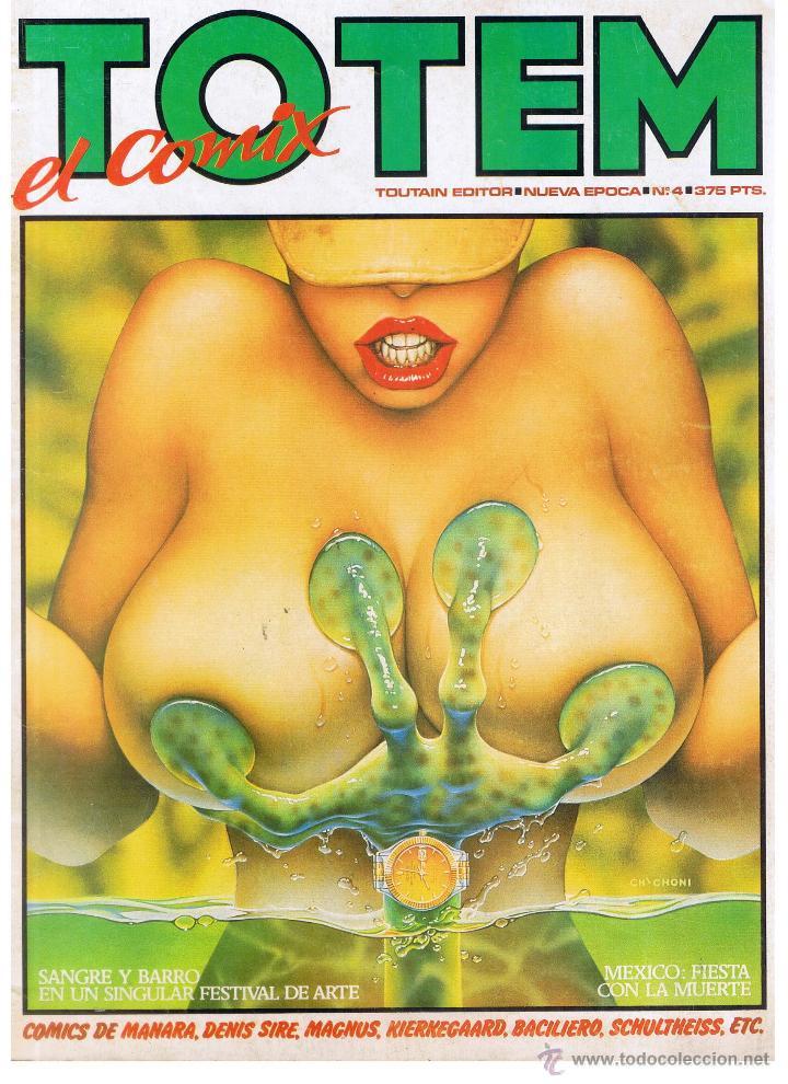 TOTEM. EL COMIX. Nº 4. TOUTAIN (B/A48) (Coleccionismo para Adultos - Comics)