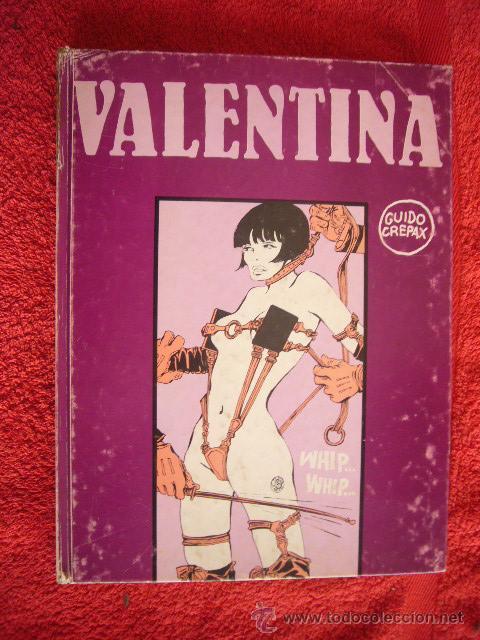 GUIDO CREPAX: - VALENTINA - (BARCELONA, LUMEN, 1977) (PRIMERA EDICION ESPAÑOLA) (Coleccionismo para Adultos - Comics)