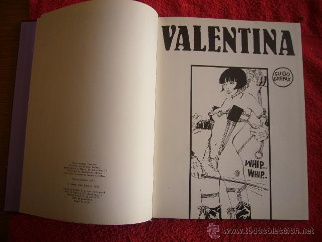 Cómics: GUIDO CREPAX: - VALENTINA - (BARCELONA, LUMEN, 1977) (PRIMERA EDICION ESPAÑOLA) - Foto 2 - 51524230