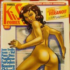 Cómics: COMIC EROTICO KISS BN COLOR NUMERO 105. Lote 52501050