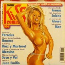 Cómics: COMIC EROTICO KISS BN COLOR NUMERO 104. Lote 52501065