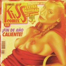Cómics: COMIC EROTICO KISS BN COLOR NUMERO 111. Lote 52501492