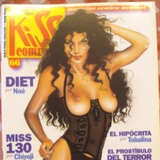 Cómics: COMIC EROTICO KISS BN COLOR NUMERO 66. Lote 52513438