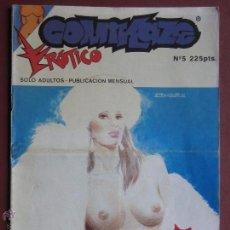 Comics: COMIC EROTICO, ED.CONCORDE: COMIKAZE Nº5. AÑO 1991.. Lote 53052519