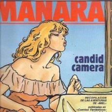 Cómics: MANARA - CANDID CAMERA - RECOPILACION DE LAS AVENTURAS DE MIEL -REFM1E3. Lote 58066703