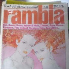 Cómics: COMIC EROTICO RAMBLA - N 8 - VER FOTO PARA MAS DETALLES --REFM1E4. Lote 58088751