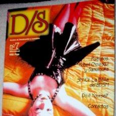 Cómics: D/S (REVISTA DE DOMINACIÓN/SUMISIÓN) Nº7. BUEN ESTADO. (SOLO PARA ADULTOS) . Lote 62219516