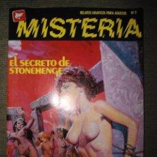 Cómics: ANTIGUO COMIC MISTERIA - NUM 3 - EL SECRETO DE STONEHENGE - LA HECHICERA. Lote 62392296