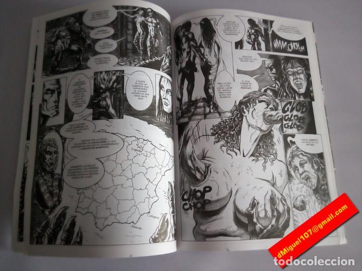 Cómics: ELIZABETH BATHORY: EL VIAJE DEL ATAUD MALDITO - Colección Wet Comix 2 - Raulo - Foto 2 - 70788049