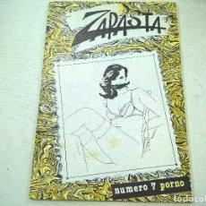 Comics: ZAPASTA-NUMERO 7 -PORNO-N. Lote 74937387