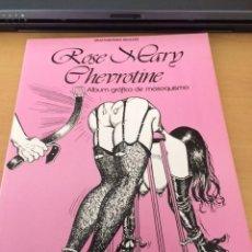 Cómics: ROSEMARY CHEVROTINE, ALBUM GRAFICO DE MASOQUISMO, STAR BOOKS,. Lote 83831124
