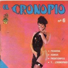 Cómics: EL CRONOPIO *** NÚMERO 6 AÑO 1976 *** ESPECIAL HUMOR SUDAMERICANO . Lote 84332752