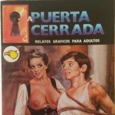 Cómics: A PUERTA CERRADA - ALBUM Nº 1 - RELATOS GRAFICOS PARA ADULTOS. Lote 89409120