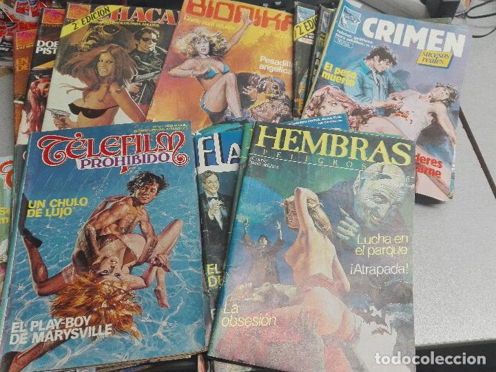 COMIC ERÓTICOS ADULTOS LOTE CON MÁS DE 90 NÚMEROS: PIG, VICIO OCULTO, HEMBRAS PELIGROSAS, SUKIA,... (Coleccionismo para Adultos - Comics)