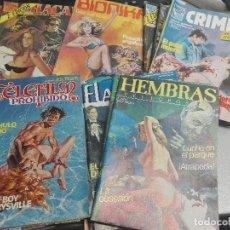 Cómics: COMIC ERÓTICOS ADULTOS LOTE CON MÁS DE 90 NÚMEROS: PIG, VICIO OCULTO, HEMBRAS PELIGROSAS, SUKIA,.... Lote 98353555