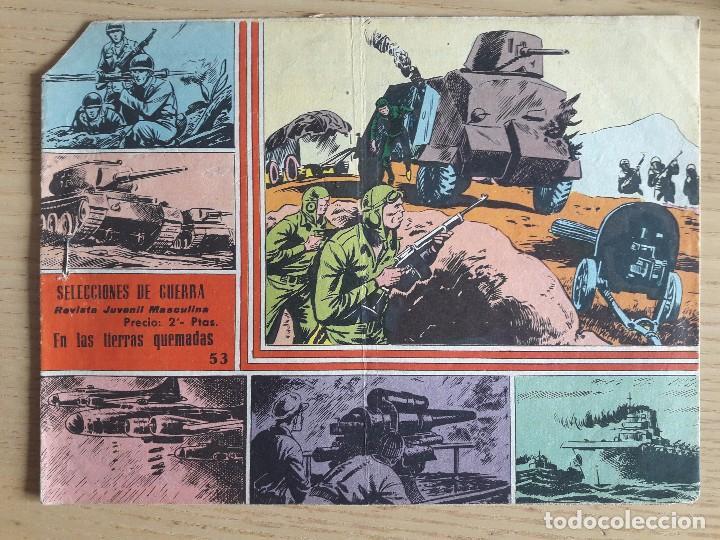 TEBEO Nº 53 SELECCIONES DE GUERRA, GRÁFICAS RICART, 1963 (Coleccionismo para Adultos - Comics)