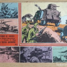 Cómics: TEBEO Nº 53 SELECCIONES DE GUERRA, GRÁFICAS RICART, 1963. Lote 98568807
