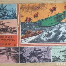 Cómics: TEBEO Nº 56 SELECCIONES DE GUERRA, GRÁFICAS RICART, 1963. Lote 98568959