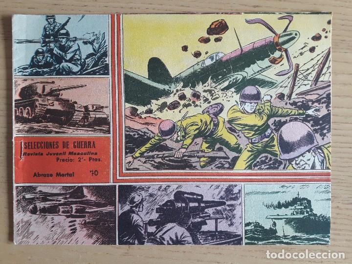 TEBEO Nº 70 SELECCIONES DE GUERRA, GRÁFICAS RICART, 1963 (Coleccionismo para Adultos - Comics)