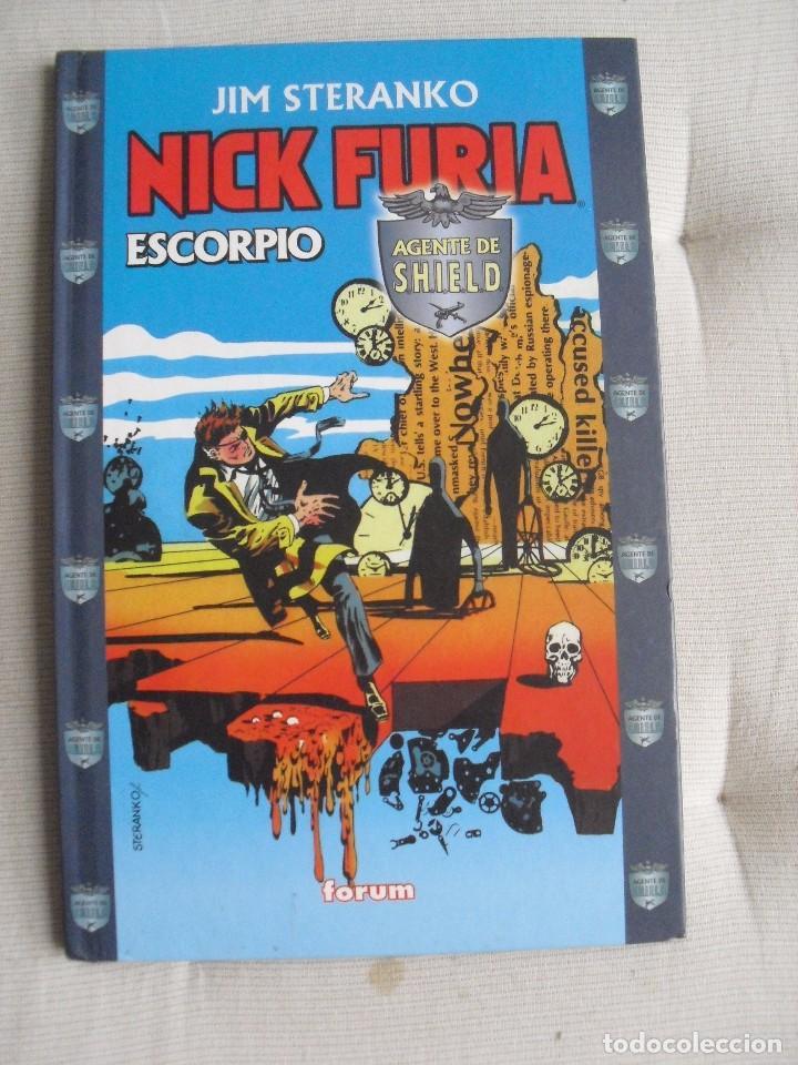 JIM STERANKO - NICK FURIA- ESCORPIO - AGENTE DE SHIELD - FORUM - COMIC (Coleccionismo para Adultos - Comics)