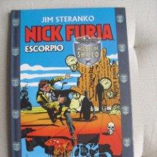 Cómics: JIM STERANKO - NICK FURIA- ESCORPIO - AGENTE DE SHIELD - FORUM - COMIC. Lote 98608275