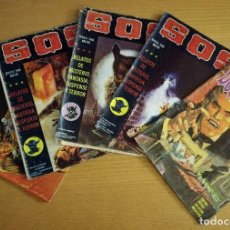 Cómics: LOTE DE 5 CÓMICS COMIC SOS DELTA Y DOSSIER NEGRO. Lote 98657491