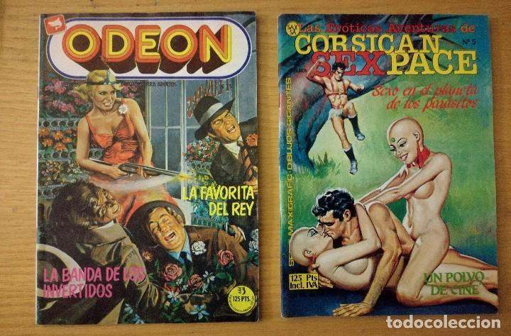 Cómics: Lote de 6 cómics comic sukia, Odeon, las profesionales, trillizas y corsican - Foto 3 - 98657639