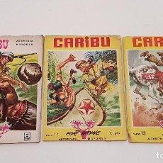 Cómics: CARIBU COMIC, REVISTA (ED. OLIVÉ) Nº: 4, 11, 13. Lote 100629391