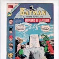 Cómics: BATMAN: NOVARO 1973- MUY BUEN ESTADO -LIGA JUSTICIA- RARO DE VER- COMPLETO. Lote 104913603
