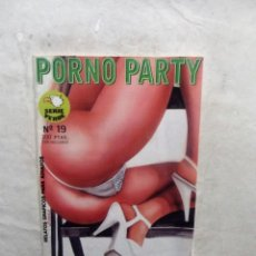 Cómics: RELATOS GRAFICOS PARA ADULTOS PORNO PARTY SERIE VERDE Nº 19. Lote 113334067